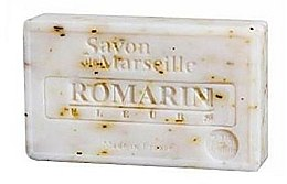 Parfums et Produits cosmétiques Savon de Marseille aux vraies fleurs de romarin - Le Chatelard 1802 Rosemary Leaves Soap