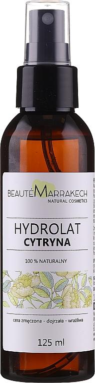 Eau de citron naturelle pour visage - Beaute Marrakech Citron Water — Photo N1
