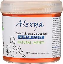 Parfums et Produits cosmétiques Pâte dépilatoire au sucre et à la menthe - Alexya Sugar Paste Natural Menta