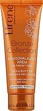 Parfums et Produits cosmétiques Crème autobronzante au beurre de karité pour corps et visage - Lirene Body Arabica Face & Body Cream
