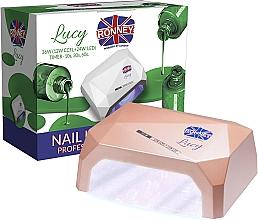 Parfums et Produits cosmétiques Lampe CCFL + LED, couleur café - Ronney Profesional Lucy CCFL + LED 38W (GY-LCL-021) Lamp