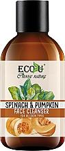Parfums et Produits cosmétiques Gel nettoyant à l'extrait d'épinard et citrouille pour visage - Eco U Pumpkins And Spinach Face Cleanser