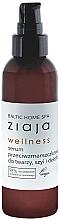 Parfums et Produits cosmétiques Sérum à l'acide alginique pour visage, cou et décolleté - Ziaja Baltic Home Spa Wellness Serum Do Twarzy, Szyi I Dekoltu