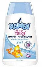 Parfums et Produits cosmétiques Shampooing et gel douche pour enfants - Pollena Savona Bambi 2in1 Shampoo & Shower Gel