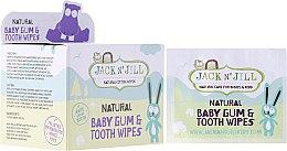 Parfums et Produits cosmétiques Lingettes nettoyantes et chewing-gum pour les gencives et les dents des enfants - Jack N' Jill