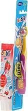 Parfums et Produits cosmétiques Duo dentifrice + brosse à dents - Bobini 2-7 (toothbrush + toothpaste/75ml)
