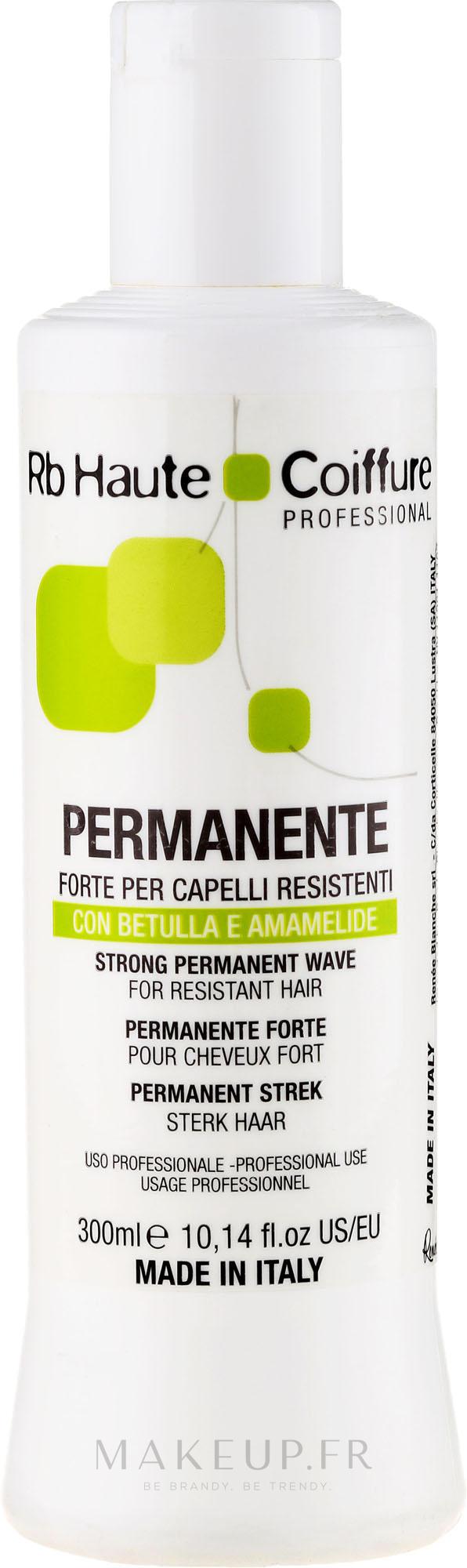 Permanente pour cheveux résistants - Renee Blanche Haute Coiffure Permanente Capelli Resistenti — Photo 300 ml