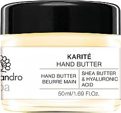 Parfums et Produits cosmétiques Beurre au beurre de karité et acide hyaluronique pour mains - Alessandro International Spa Hand Butter
