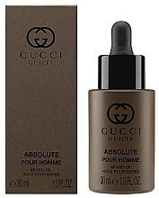 Parfums et Produits cosmétiques Gucci Guilty Absolute Pour Homme - Huile pour barbe