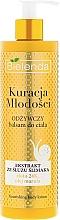 Parfums et Produits cosmétiques Lotion corporelle à l'extrait de bave d'escargot et Or 24K - Bielenda Kuracja Mlodosci Nourishing Body Lotion