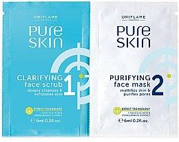 Parfums et Produits cosmétiques Gommage et nettoyant pour le visage - Oriflame Pure Skin Face Scrub & Mask