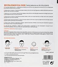 Masque en tissu à la vitamine C - SesDerma Laboratories Sesmedical Revitalizing Face Mask — Photo N2