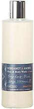 Parfums et Produits cosmétiques Bath House Bergamot & Amber - Gel douche pour corps et cheveux Bergamote et Ambre