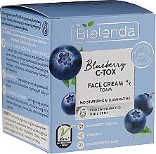 Parfums et Produits cosmétiques Crème-mousse à l'huile de pépins de myrtille pour visage - Bielenda Blueberry C-Tox Face Cream