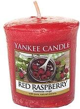 Parfums et Produits cosmétiques Bougie parfumée votive Framboise rouge - Yankee Candle Red Raspberry