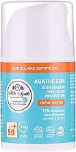 Parfums et Produits cosmétiques Crème solaire à l'extrait de bave d'escargot - Mlle Agathe Sun SPF 50+