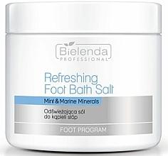Parfums et Produits cosmétiques Sels pour bain des pieds, Menthe et Minéraux marins - Bielenda Professional Foot Program