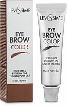 Parfums et Produits cosmétiques Teinture pour sourcils - LeviSsime Eye Brow Color