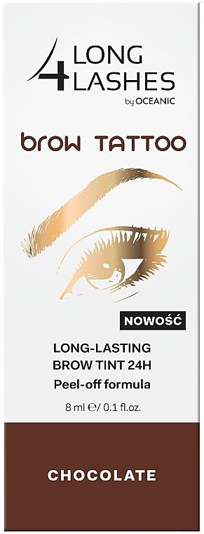 Encre à sourcils peel-off longue-tenue - Long4Lashes Brow Tattoo Long Lasting Brow Tint 24h