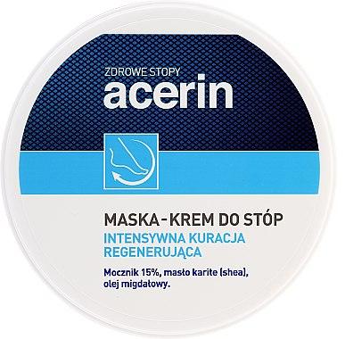 Masque-crème régénérant pour les pieds - Acerin Mask