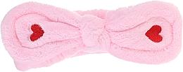 Parfums et Produits cosmétiques Bandeau cosmétique pour cheveux, rose - Lash Brow Cosmetic SPA Band