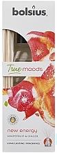 Bâtonnets parfumés, Pamplemousse et Gingembre - Bolsius Fragrance Diffuser True Moods New Energy — Photo N2