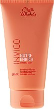 Parfums et Produits cosmétiques Crème au baie de goji pour cheveux - Wella Professionals Invigo Nutri-Enrich Frizz Control Cream