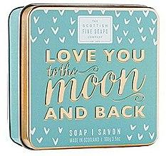 Parfums et Produits cosmétiques Savon en boîte métallique - Scottish Fine Soaps Love You To The Moon And Back Soap In A Tin