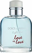 Parfums et Produits cosmétiques Dolce & Gabbana Light Blue Love is Love Pour Homme - Eau de Toilette