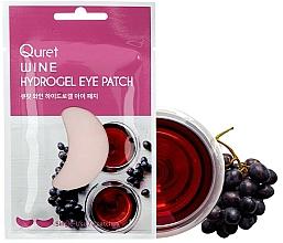 Parfums et Produits cosmétiques Patchs pour contour des yeux - Quret Wine Hydrogel Eye Patch