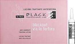 Parfums et Produits cosmétiques Lotion en ampoules pour cheveux - Black Professional Line Anti-Dandruff Hair Lotion