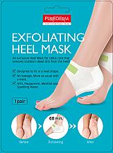 Parfums et Produits cosmétiques Masque exfoliant à la menthe pour talons - Purederm Exfolaiting Heel Mask