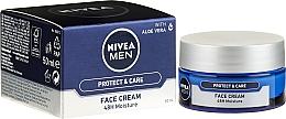 Parfums et Produits cosmétiques Crème à l'aloe vera pour visage - Nivea Men Originals Cream