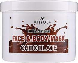 Parfums et Produits cosmétiques Masque au beurre de cacao pour visage et corps - Hristina Cosmetics Face & Body Chocolate Mask