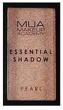 Parfums et Produits cosmétiques Fard à paupières - MUA Essential Shadow Pearl