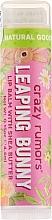 Parfums et Produits cosmétiques Baume à lèvres au beurre de karité, Prune et Abricot - Crazy Rumors Leaping Bunny Lip Balm