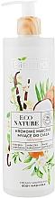 Parfums et Produits cosmétiques Lait de douche crémeux à l'huile de coco - Bielenda Eco Nature Creamy Body Wash Milk Vanilla Coconut Milk Orange Blossom