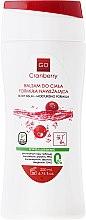 Parfums et Produits cosmétiques Lotion à l'extrait de canneberge et huile de germe d'avoine pour corps - GoCranberry