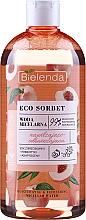 Parfums et Produits cosmétiques Eau micellaire au jus de pêche - Bielenda Eco Sorbet Moisturizing&Refreshing Micellar Water