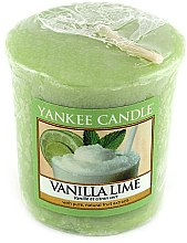 Parfums et Produits cosmétiques Bougie parfumée votive Vanille et citron vert - Yankee Candle Vanilla Lime
