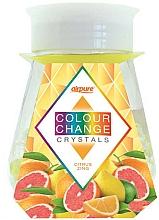 Parfums et Produits cosmétiques Désodorisant en gel avec cristaux, Agrumes - Airpure Colour Change Crystals Citrus Zing