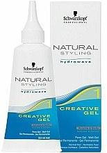 Parfums et Produits cosmétiques Gel de permanente - Schwarzkopf Professional Natural Styling Creative Gel №1