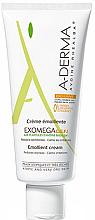 Crème émolliente pour visage et corps - A-Derma Exomega D.E.F.I Emollient Cream — Photo N2