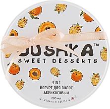 Parfums et Produits cosmétiques Yaourt pour cheveux, Abricot - Dushka