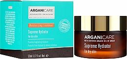 Parfums et Produits cosmétiques Crème à l'huile d'argan pour visage - Arganicare Shea Butter Supreme Hydrator