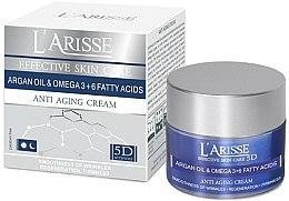 Parfums et Produits cosmétiques Crème de jour et nuit à l'huile d'argan et oméga 3 + 6 - Ava Laboratorium L'Arisse 5D Anti-Wrinkle Cream Agran Oil & Omega 3+6
