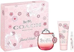 Parfums et Produits cosmétiques Coach Floral Blush - Coffret (eau de parfum/90ml + eau de parfum/7.5ml + lait parfumé pour corps/100ml)