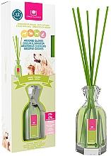Parfums et Produits cosmétiques Diffuseur de parfum éliminateur d'odeurs, Jardin - Cristalinas Reed Diffuser