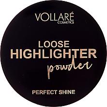 Parfums et Produits cosmétiques Poudre illuminatrice - Vollare Loose Highlighter Powder Perfect Shine