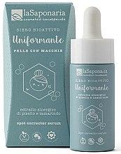 Parfums et Produits cosmétiques Sérum bioactif éclaircissant anti-tache brunes pour visage - La Saponaria Spot-Corrector Serum